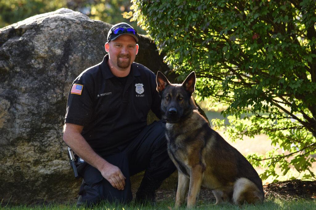 K-9 Officer Michael Westcott & K9 General