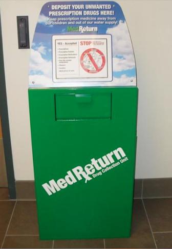 Med Return Drop Off