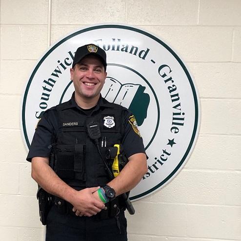 School Resource Officer Kyle  Sanders
