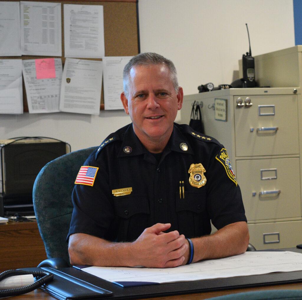 Chief of Police Robert D. Landis